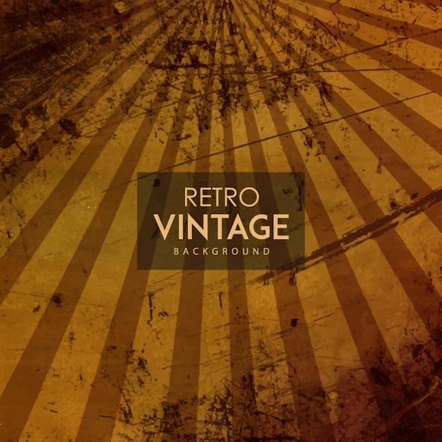 Aquarelle rétro fond vintage Vecteur gratuit