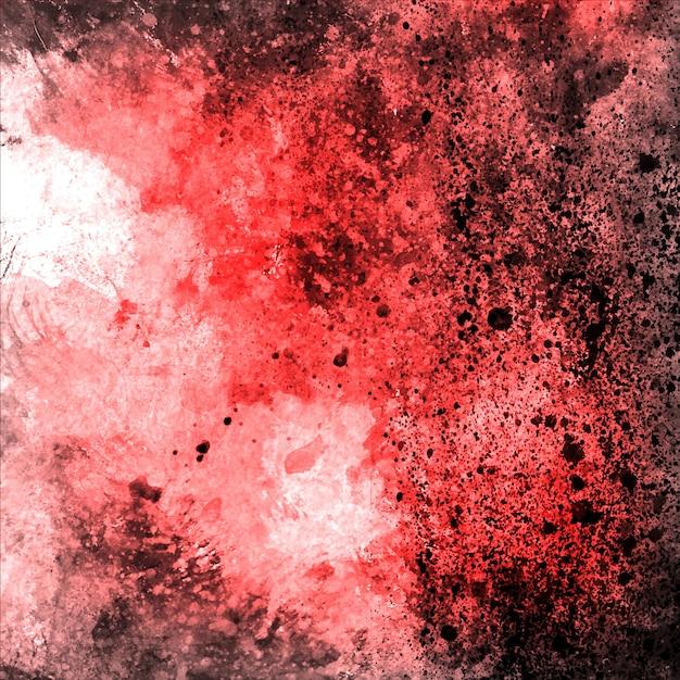 Aquarelle Rouge Grungy Backgorund Multipurpose Vecteur gratuit