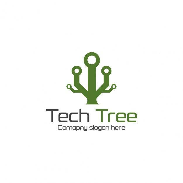 Arbre Technologie Vecteur gratuit