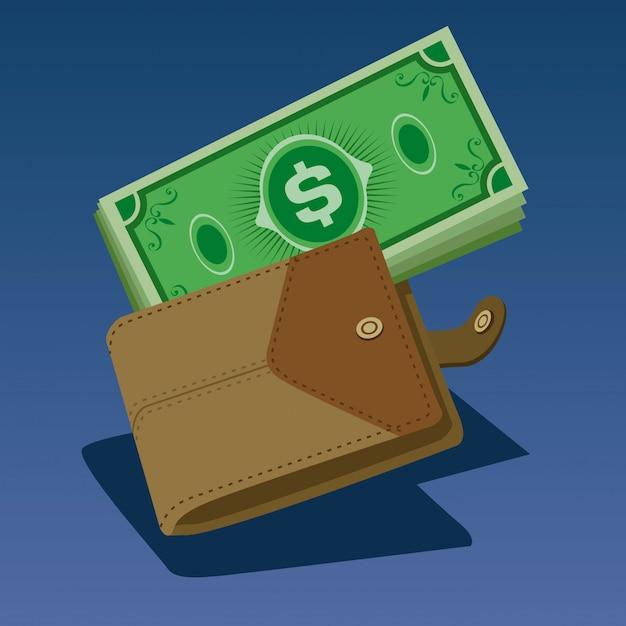 Argent dans le portefeuille Vecteur Premium
