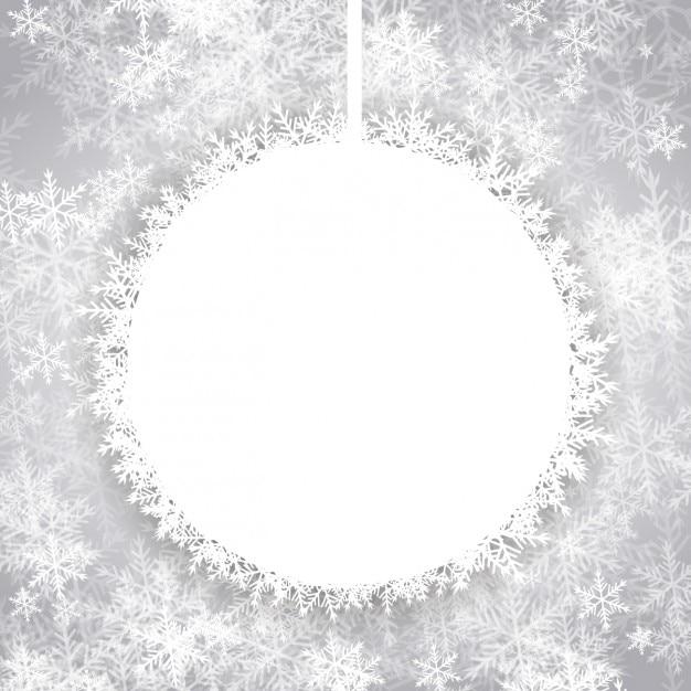 arri re plan avec no l boule de neige vide t l charger des vecteurs gratuitement. Black Bedroom Furniture Sets. Home Design Ideas