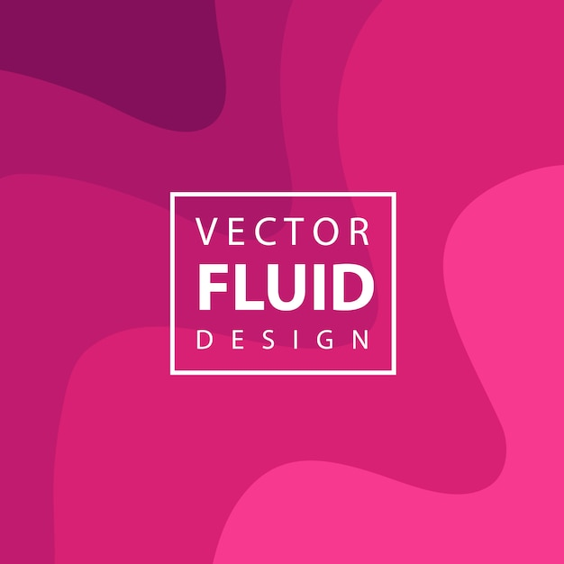 Arrière-plan de conception fluide vecteur coloré Vecteur gratuit