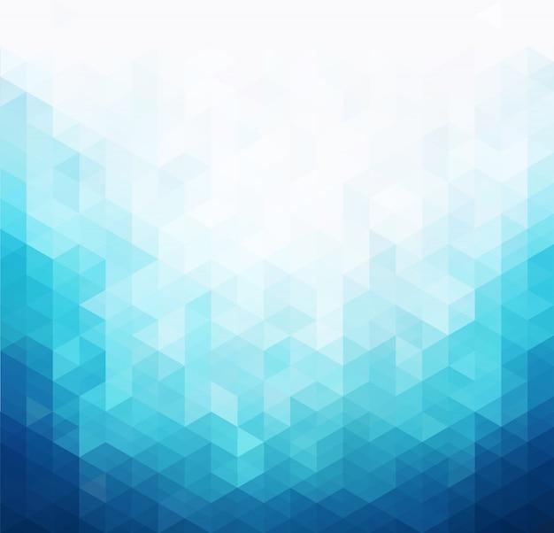 Arrière-plan Du Modèle De Lumière Bleue Abstraite Vecteur Premium