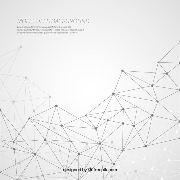Arrière-plan Des Lignes Géométriques Vecteur gratuit