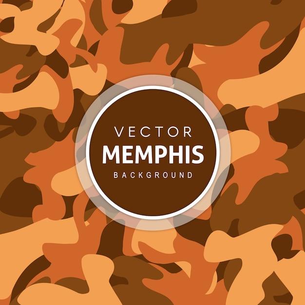Arrière-plan unique de modèle armée Vecteur gratuit
