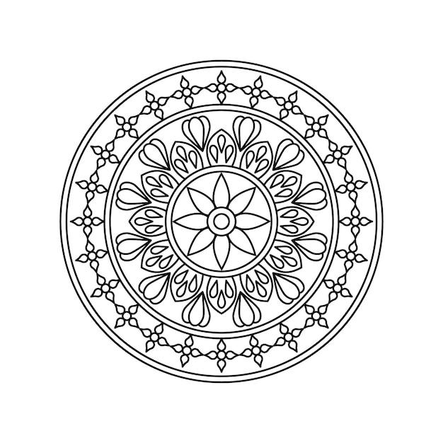 Arrière-plans De Mandala De Luxe Créatif Vecteur Premium
