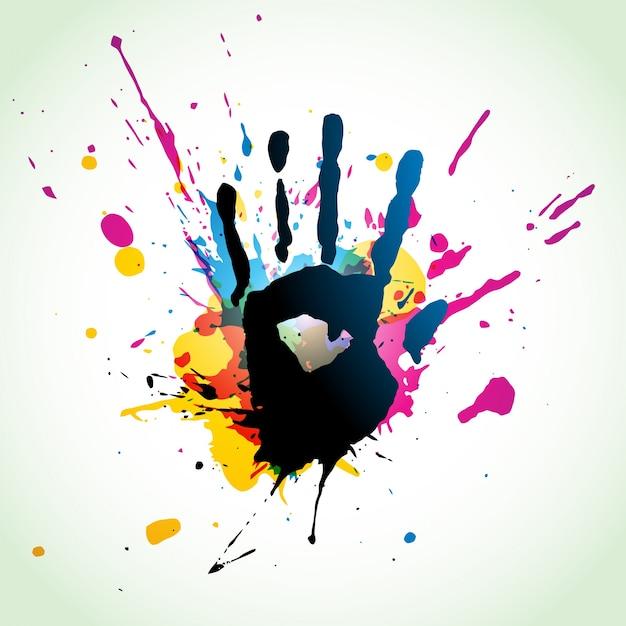 Art grunge abstraite eps10 art vectoriel Vecteur gratuit