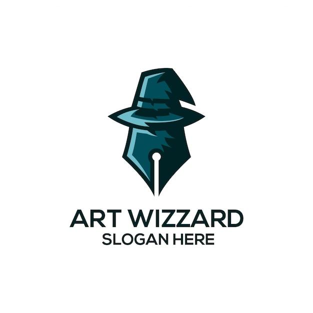 Art wizard Vecteur Premium
