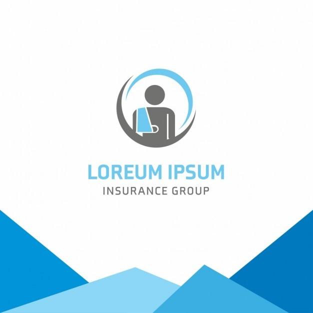 Assurance orthopédique logo modèle Vecteur gratuit