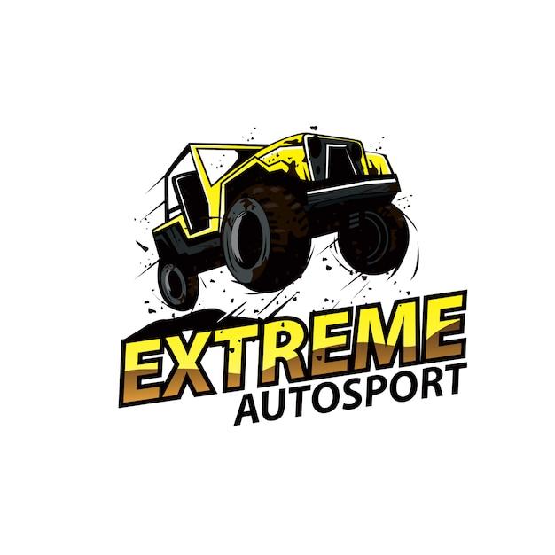 Autosport Extrême Vecteur Premium