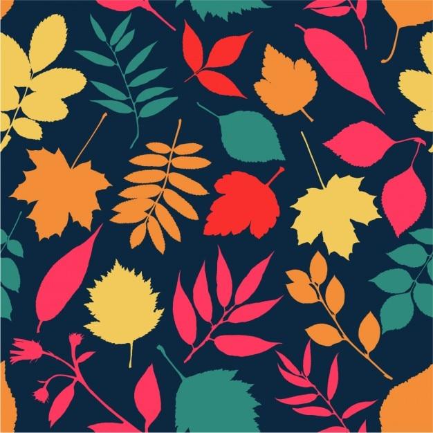 Autumn seamless Vecteur gratuit