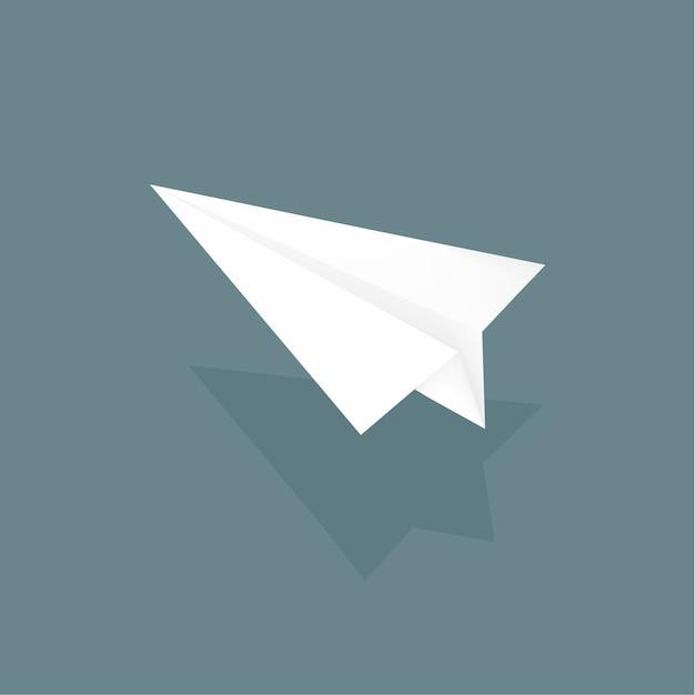 Avion en papier Vecteur gratuit
