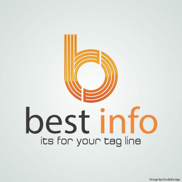 B lettre logo Vecteur gratuit