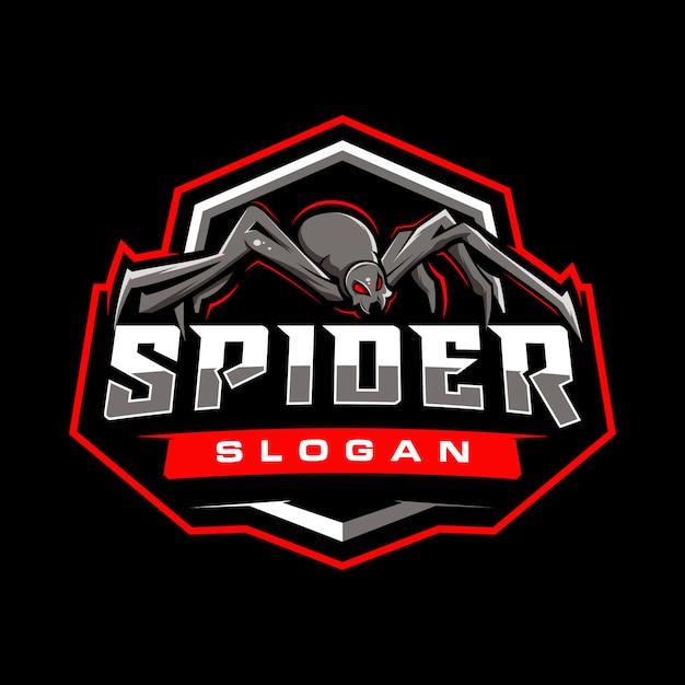 Badge De Jeu Spider Vecteur Premium