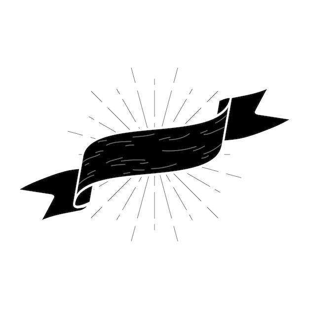 Badge vide Vecteur gratuit