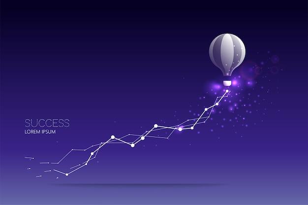 Ballon abstrait Vecteur Premium