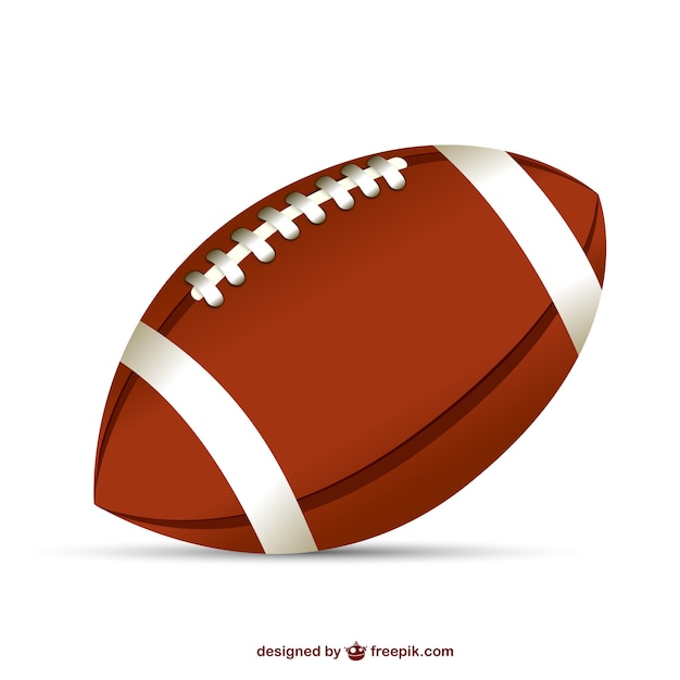 Ballon de football am ricain illustration t l charger des vecteurs gratuitement - Dessin football americain ...