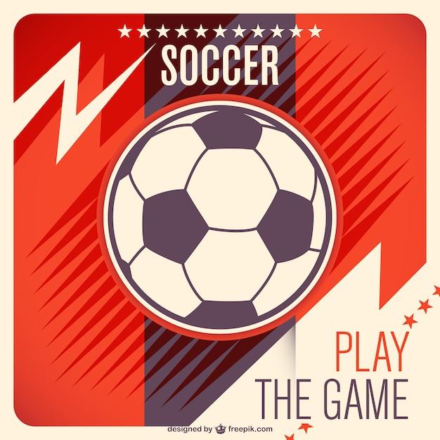 Ballon De Soccer Vecteur Libre Vecteur gratuit