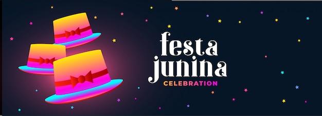 Bannière festa latino-américaine Vecteur gratuit