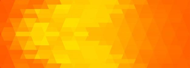 Bannière Géométrique Colorée Abstraite Vecteur gratuit