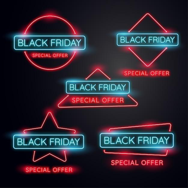Bannière noire du vendredi noir.utilisée pour la boutique, la boutique en ligne, la promotion et la publicité. vect Vecteur Premium