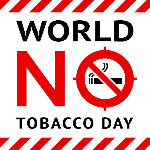 Bannière Publique Non Fumeur Vecteur Premium
