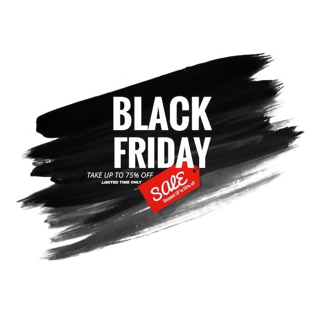 Bannière de vente moderne vendredi noir Vecteur gratuit