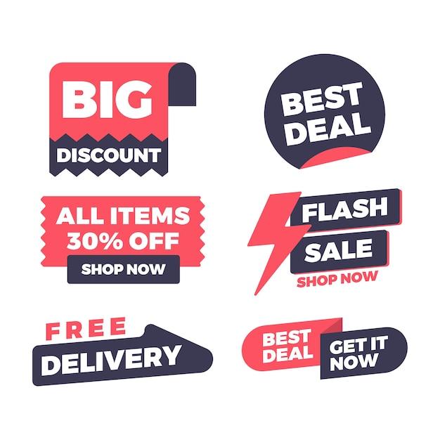 Bannière de vente et remise Vecteur Premium