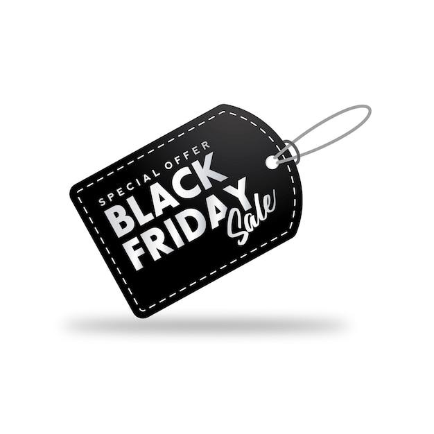 Bannière De Vente Vendredi Noir. Vecteur Premium