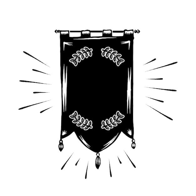 Bannière Vierge Classique Vecteur gratuit