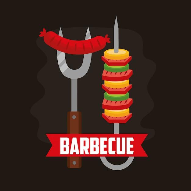 Barbecue Vecteur gratuit