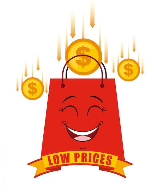 Bas prix Vecteur Premium