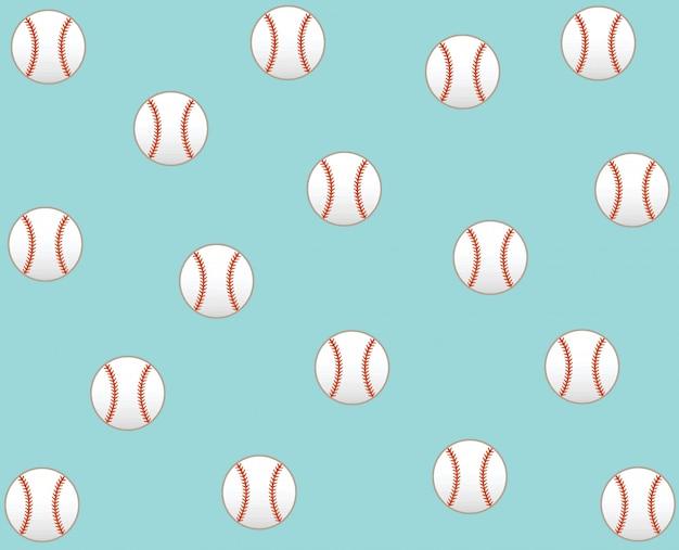 Baseball vecteur icône de fond Vecteur Premium