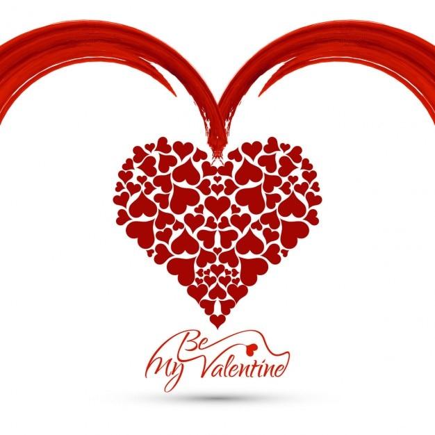 Beau Fond D Amour Avec Le Coeur Télécharger Des Vecteurs