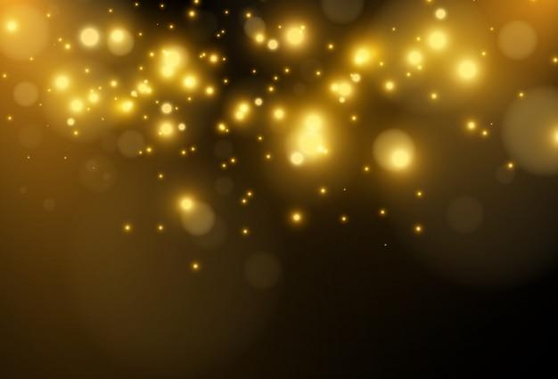 Belle étoile Brillante. Illustration D'un Effet De Lumière Sur Un Fond Transparent. Vecteur Premium