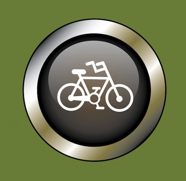Bicyclette Vecteur gratuit