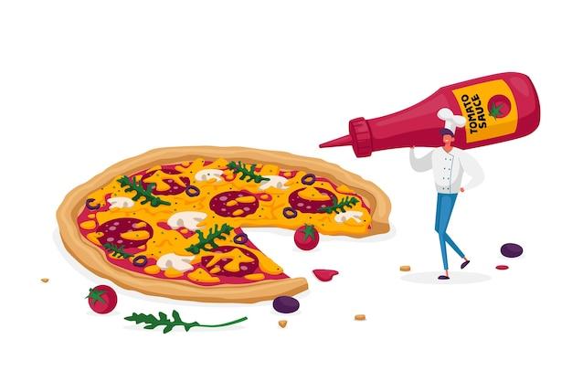 Bistro Cuisine Italienne Et Manger Vecteur Premium