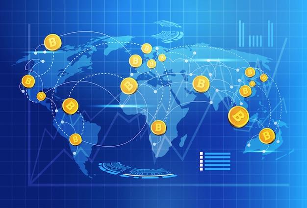 système commercial pour bitcoin