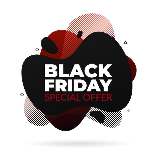 Black friday sale banner Vecteur Premium