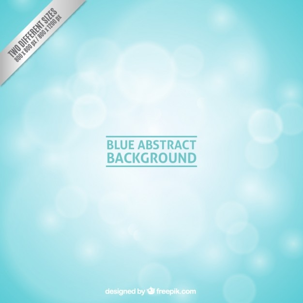 Bleu fond abstrait Vecteur gratuit