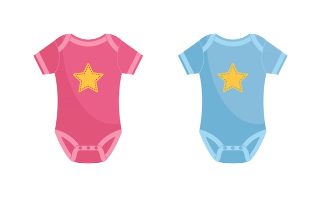 Body bébé Vecteur Premium