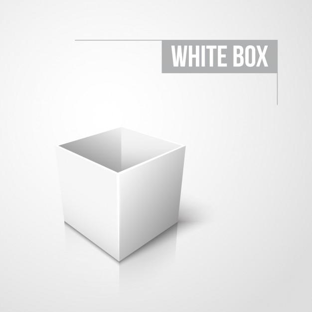 bo te blanche conception vide t l charger des vecteurs gratuitement. Black Bedroom Furniture Sets. Home Design Ideas