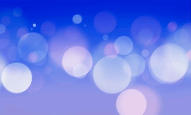 Bokeh Abstrait Lumières Brouillées Wallpaper Vecteur gratuit
