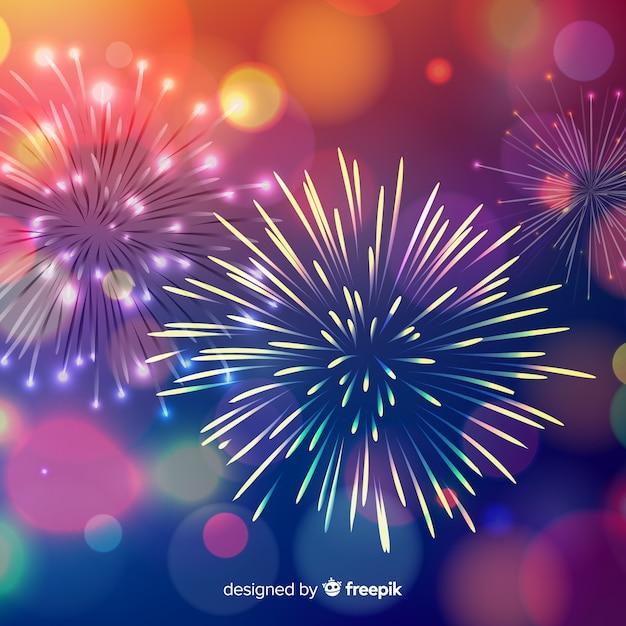 Bonne année 2019 fond Vecteur gratuit