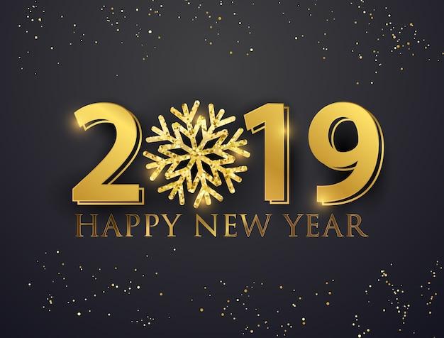 Bonne ann e 2019 t l charger des vecteurs premium - Bonne nouvelle anne ...