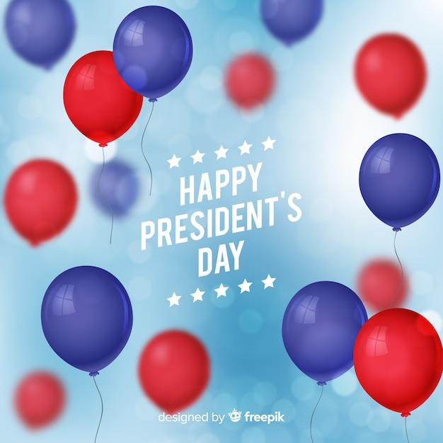 Bonne fête du président Vecteur gratuit