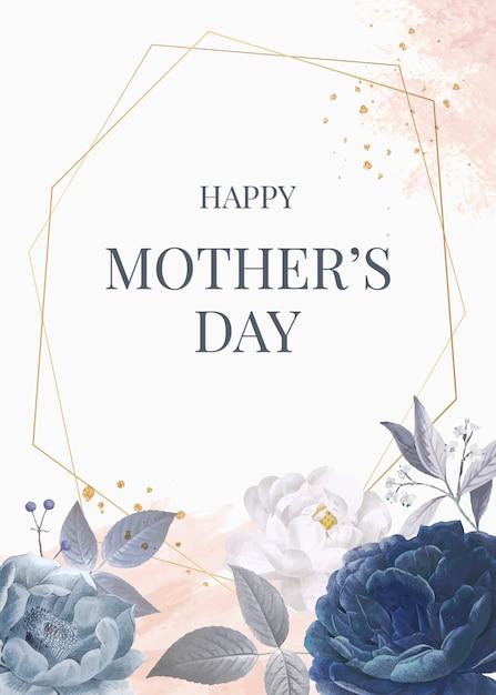 Bonne fête des mères Vecteur gratuit