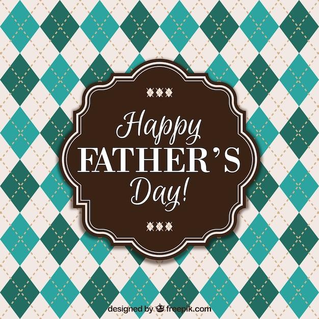 Bonne fête des pères Vecteur gratuit