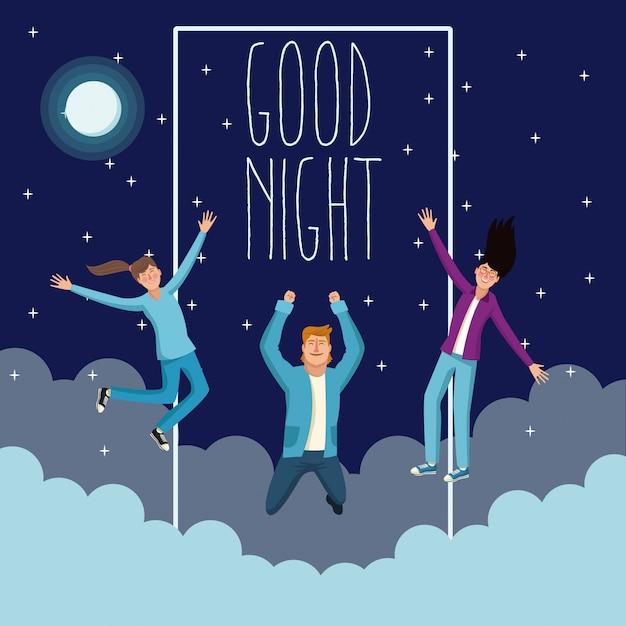 Bonne Nuit Et Les Dessins Animés Des Jeunes Télécharger