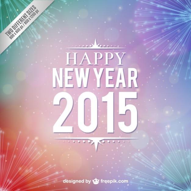 Bonne vecteur 2015 Vecteur gratuit
